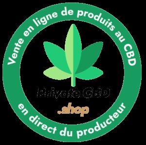 Logo Private CBD shop transparent